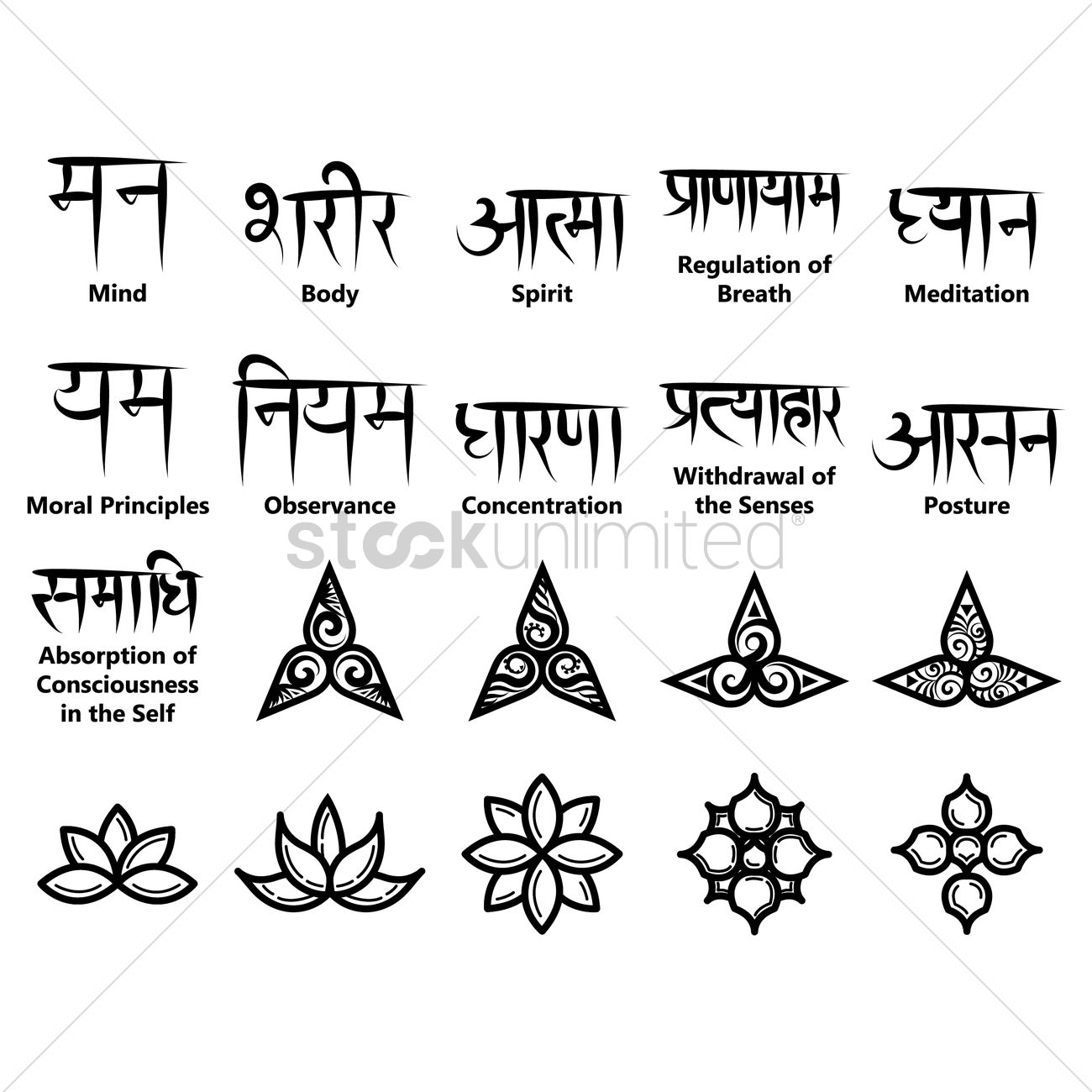 Symbols and meanings meditation symbols and meanings biocorpaavc Image collections