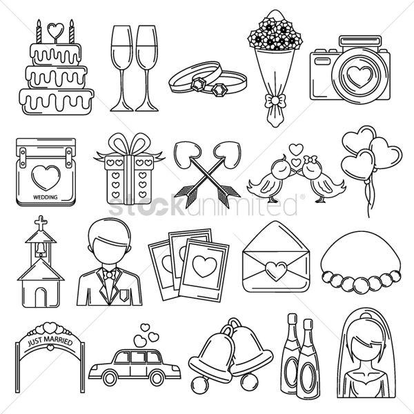 free wedding icons # 26