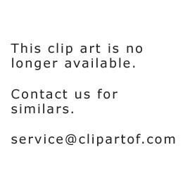 Funny Cartoon School Bus