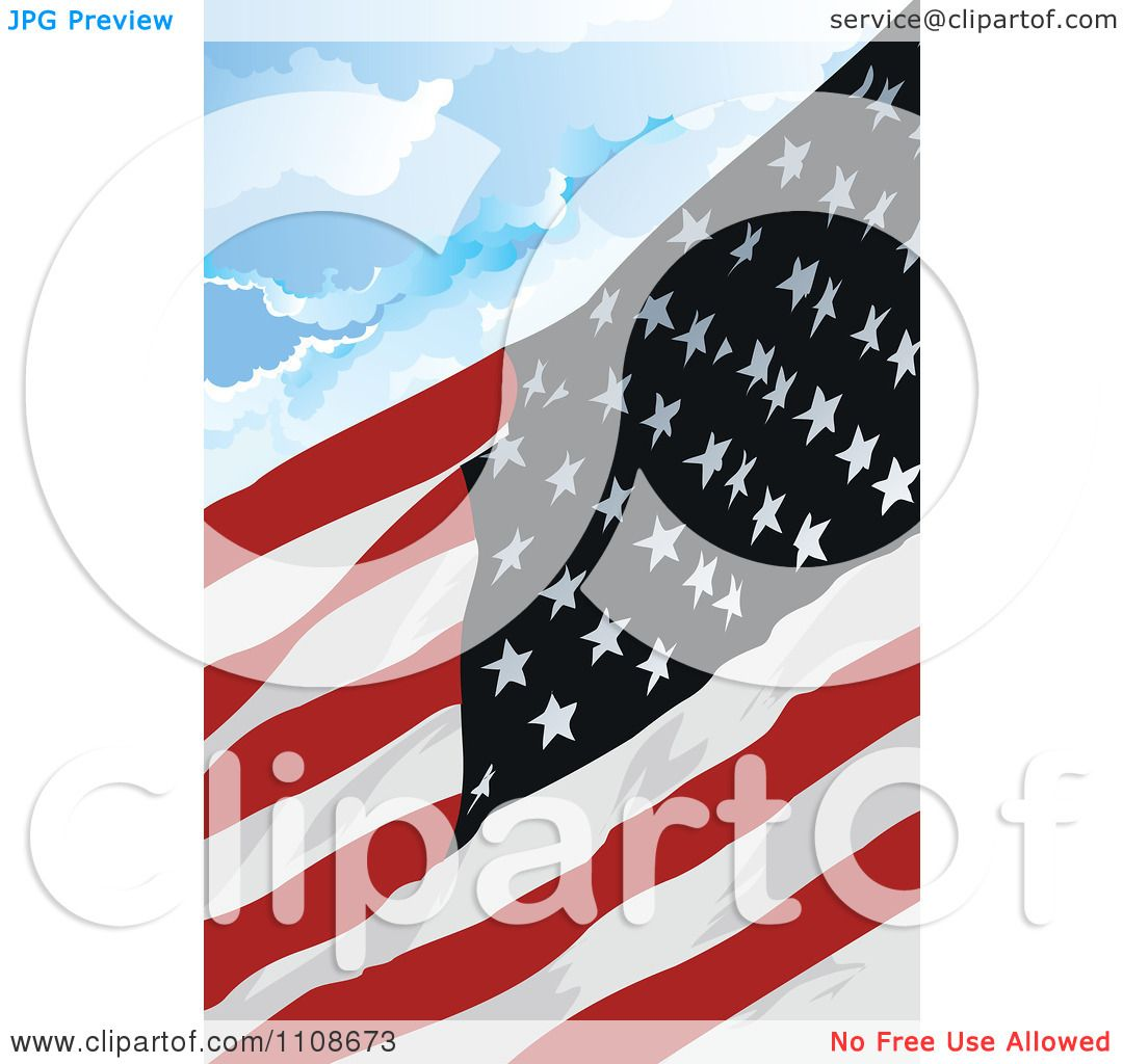 Coloring White American And Tattoo Black Flag