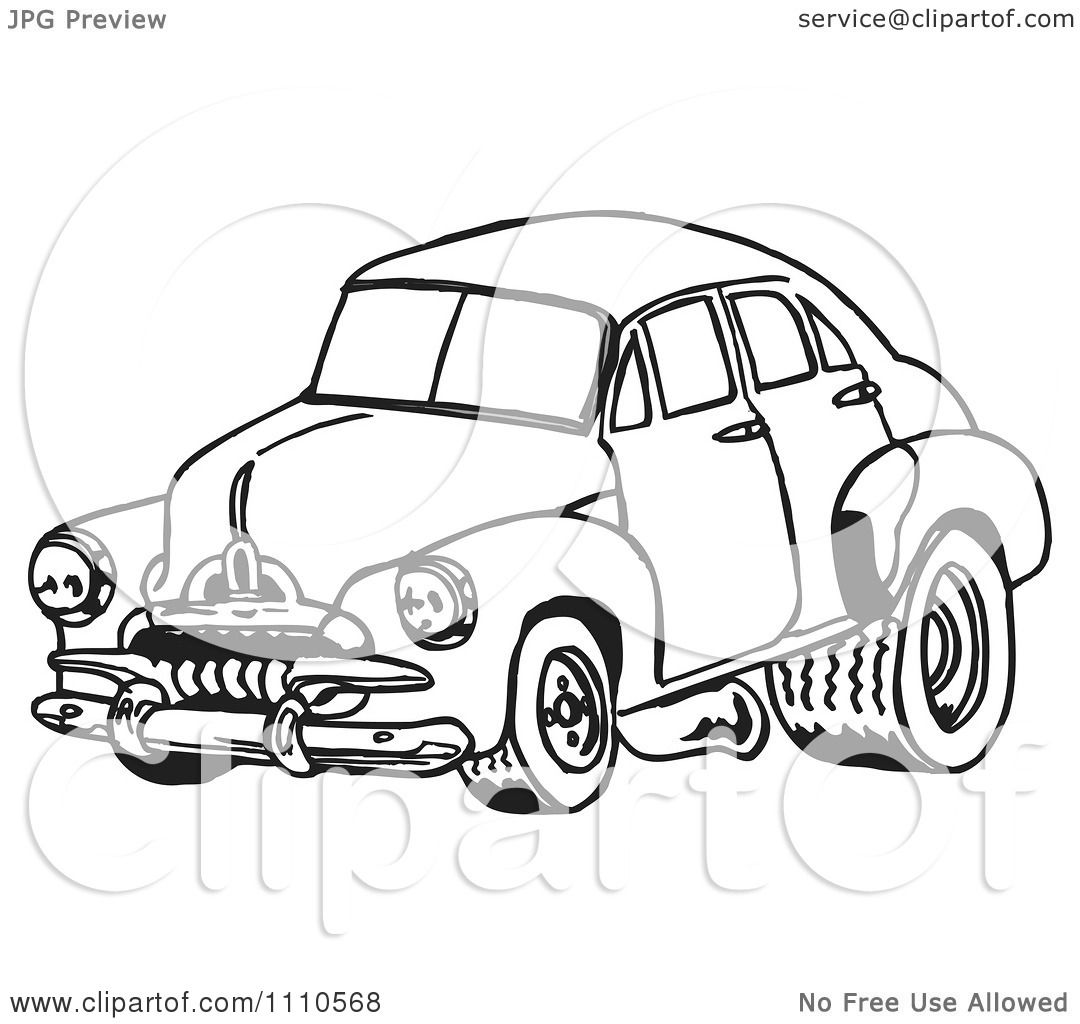 Clipart black and white racing fj holden car 1 royalty free