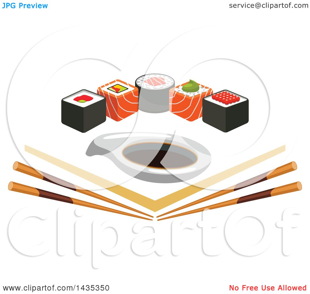 Sushi Clip Art Chopsticks