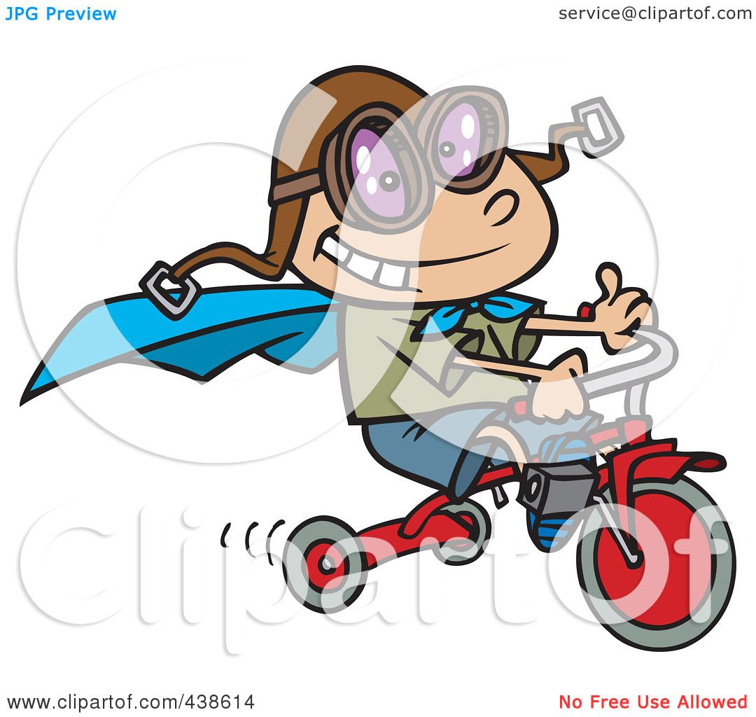 His Art Boy Bike Clip Riding And White Black