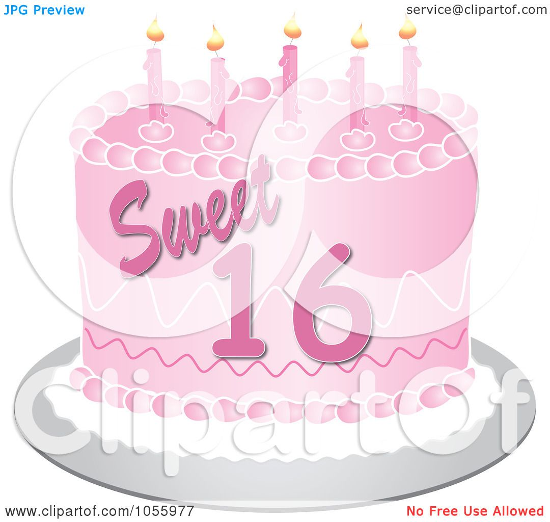 Royalty Free Vector Clip Art Illustration Of A Pink Sweet
