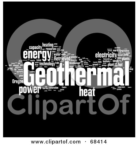 Royalty Free Rf Geothermal Clipart Illustrations