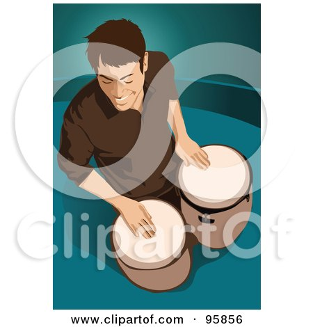 Royalty-Free (RF) Clipart Illustration of a Marching Band ...