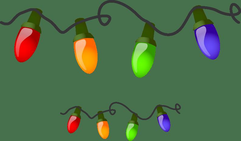 Christmas Lights Border