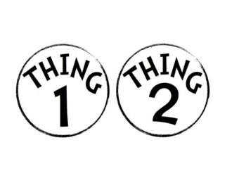 thing 1 and thing 2 coloring pages # 31