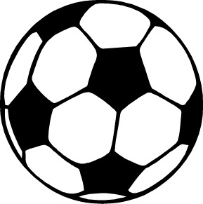 Football Clipart Black And White | Clipart Panda - Free ...