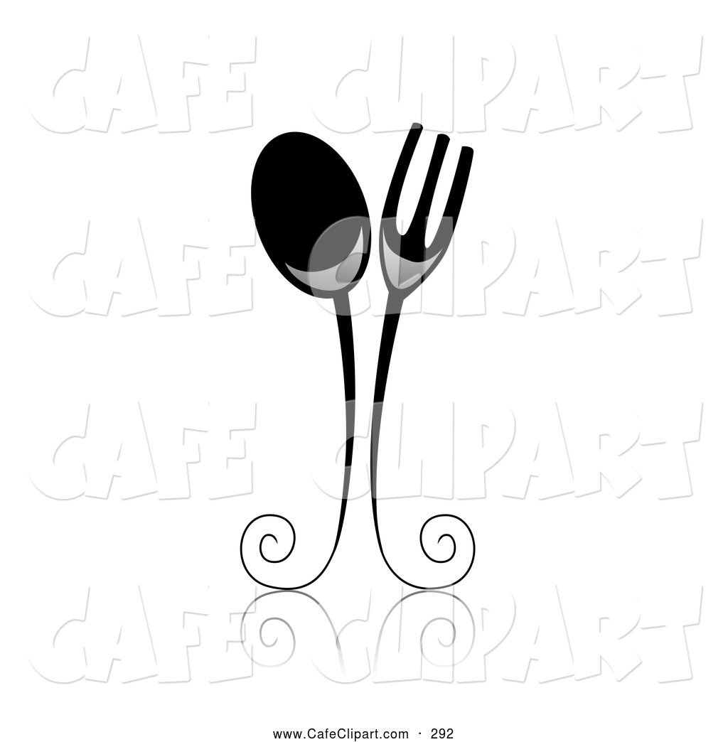 vintage spoon and fork clip art rh pandarestaurant us fork clipart black fork clipart free