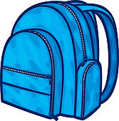 Kid Packing Backpack Clipart | Clipart Panda - Free ...