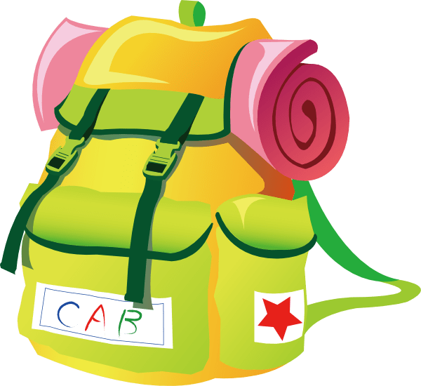 Open Backpack Clipart | Clipart Panda - Free Clipart Images