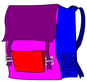 Open Backpack Drawing | Clipart Panda - Free Clipart Images