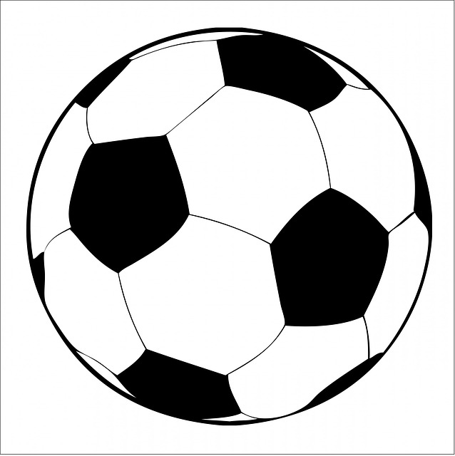 Soccer Clip Art Black And White | Clipart Panda - Free ...