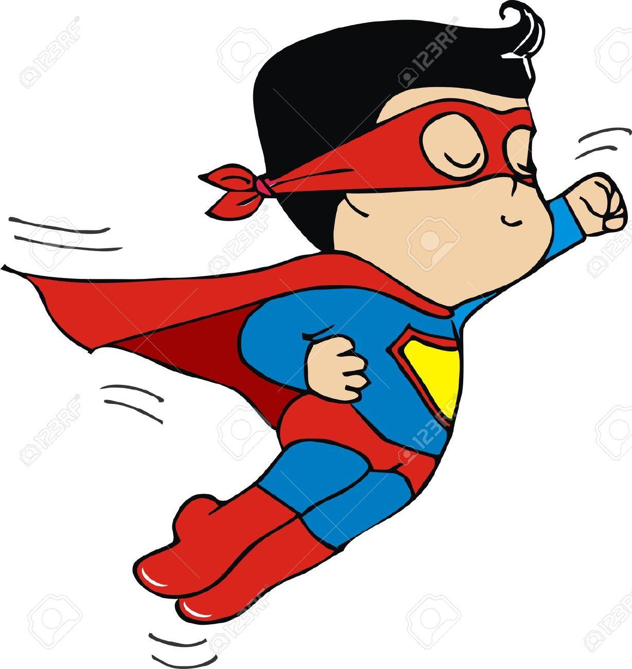 Superwoman Flying Clip Art