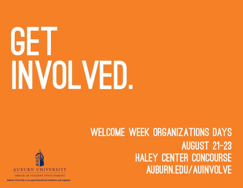 Welcome Week Organizations