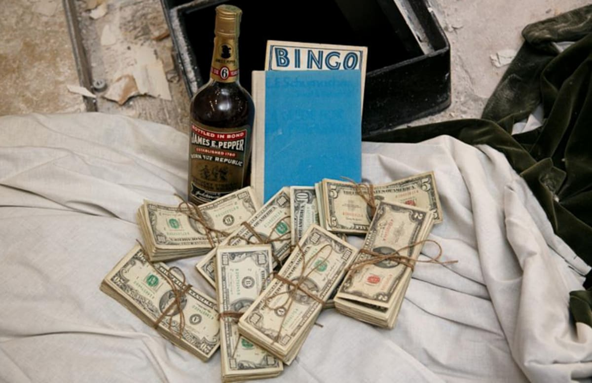 Arizona Couple Finds Safe Full Of Money And Rare Bourbon