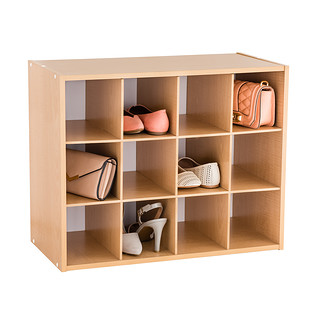 Natural 12 Pair Shoe Organizer The Container Store