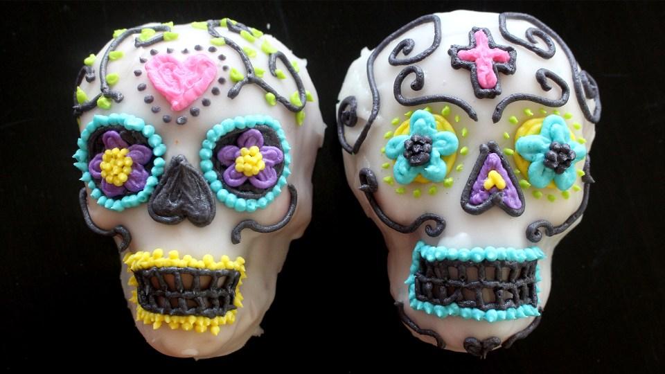 Sugar Skull Cakes Recipe Tastemade