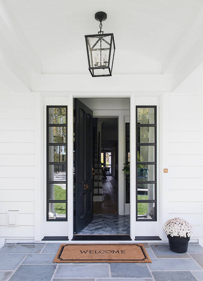 Ideas For Front Door Sidelights And Transoms Pella