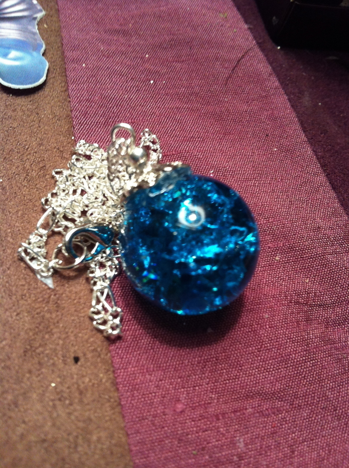 Quot Cracked Quot Marble Necklace Pendants 183 How To Make A Marble