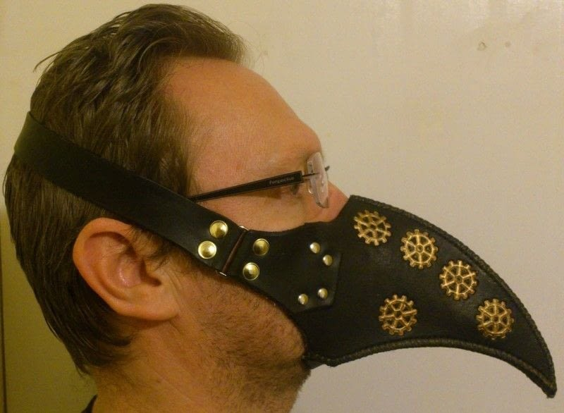 Plague Doctor Half Mask 183 A Mask 183 Other On Cut Out Keep