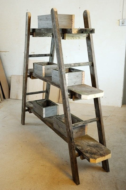 Ladder Plant Stand 183 Extract From Woodworking For The