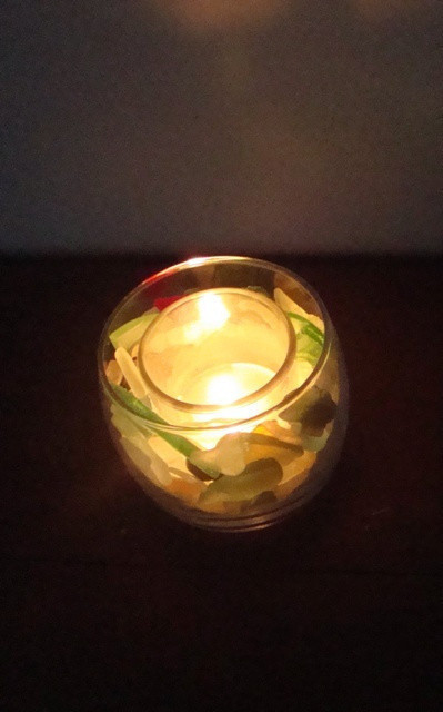 Sea Glass Candle Holders 183 How To Make A Votive Candle