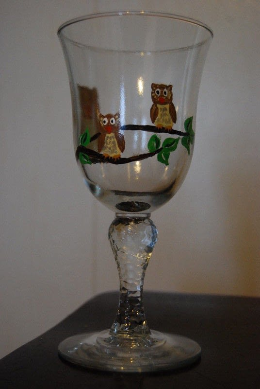 Hand Painted Glasses 183 How To Make A Glass 183 Decorating On