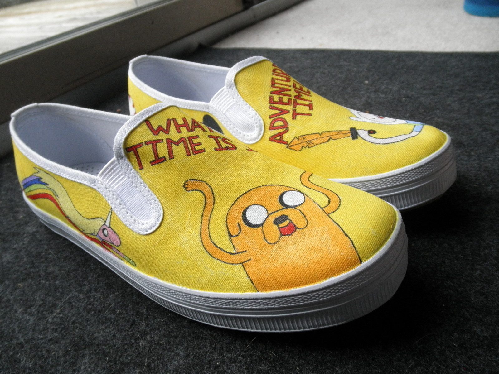 Adventure Time Shoes 183 How To Paint A Pair Of Character