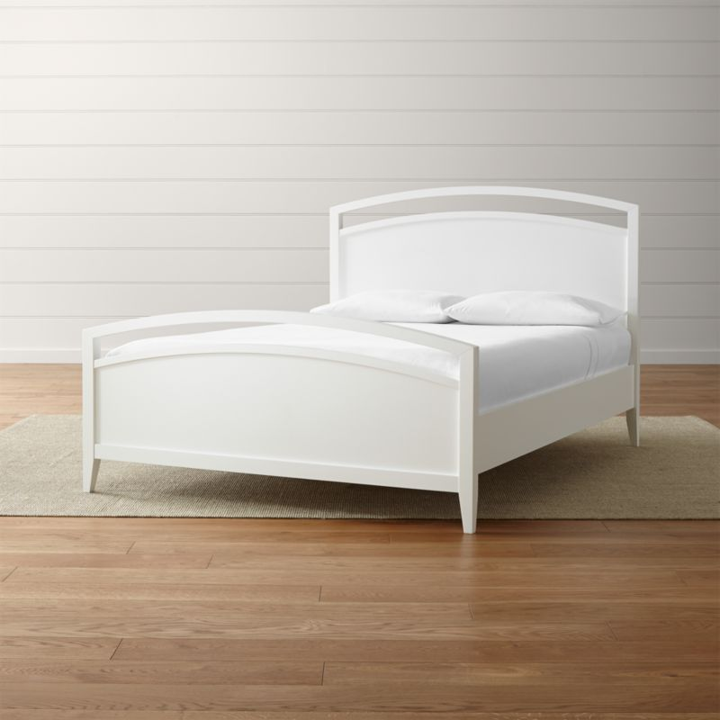 Arch White Bed Crate And Barrel
