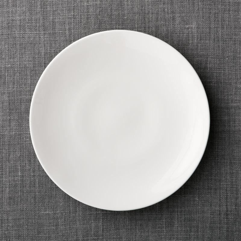 Bennett Dinner Plate Reviews Crate And Barrel