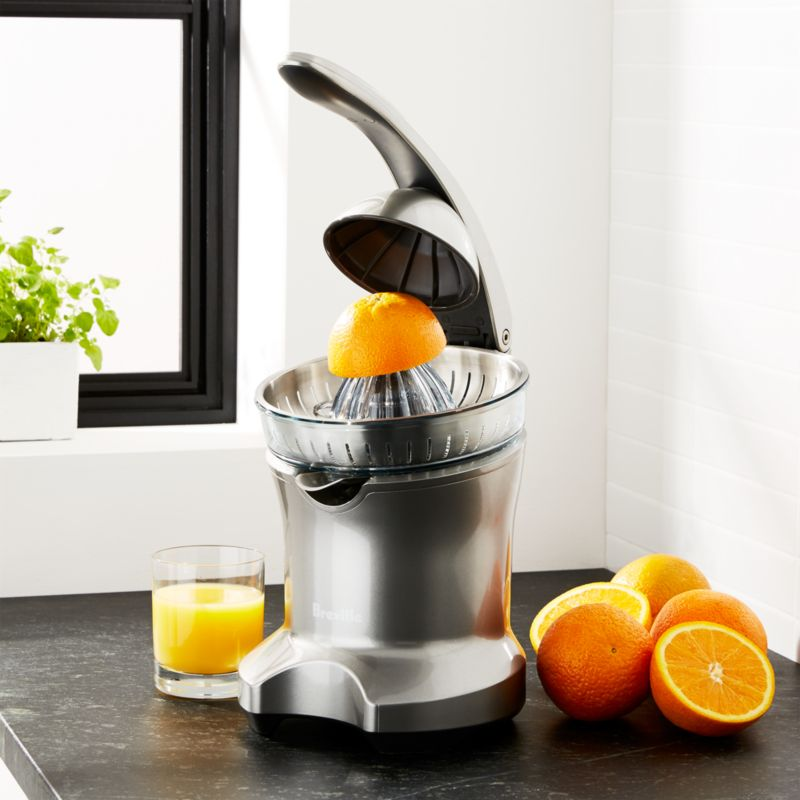 Breville Citrus Press Juicer Crate And Barrel