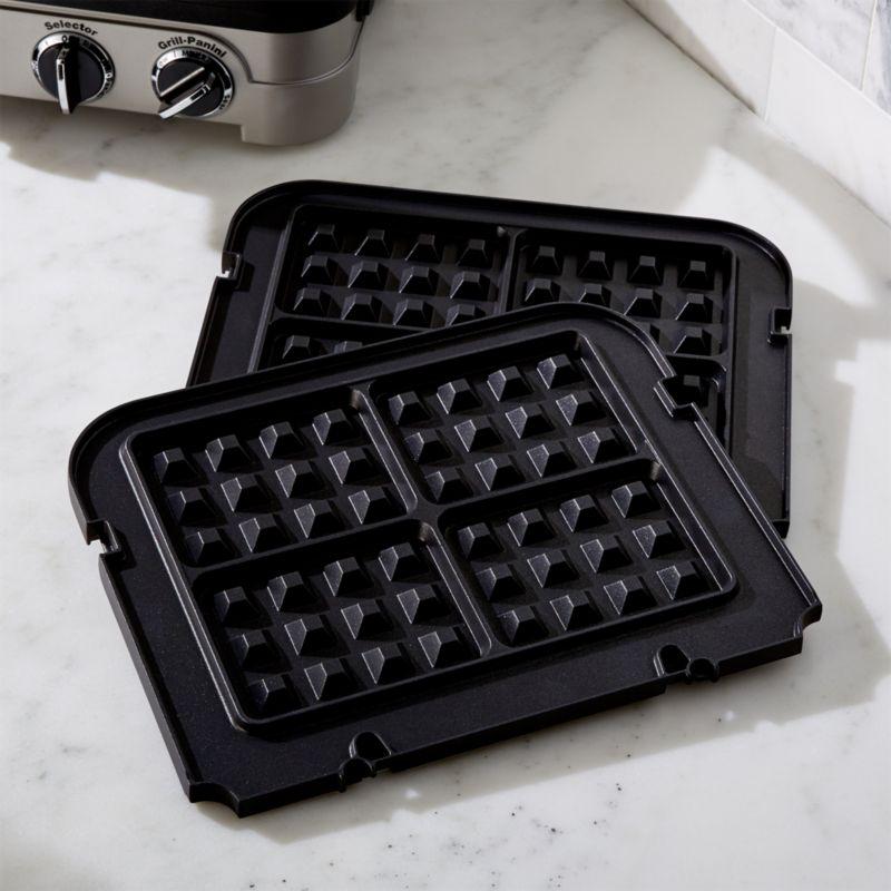Set Of 2 Cuisinart Griddler Waffle Plates Reviews