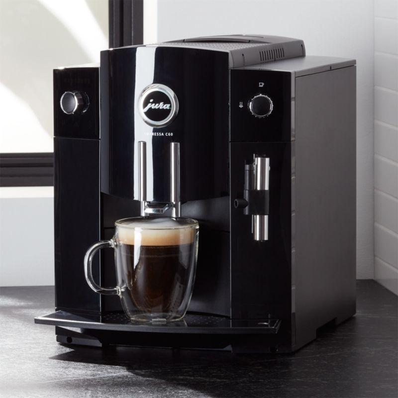 Jura C60 Espresso Machine Reviews Crate And Barrel