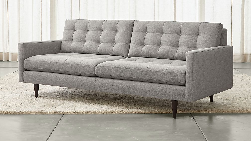 Petrie Mid Century Sofa   Reviews   Crate and Barrel