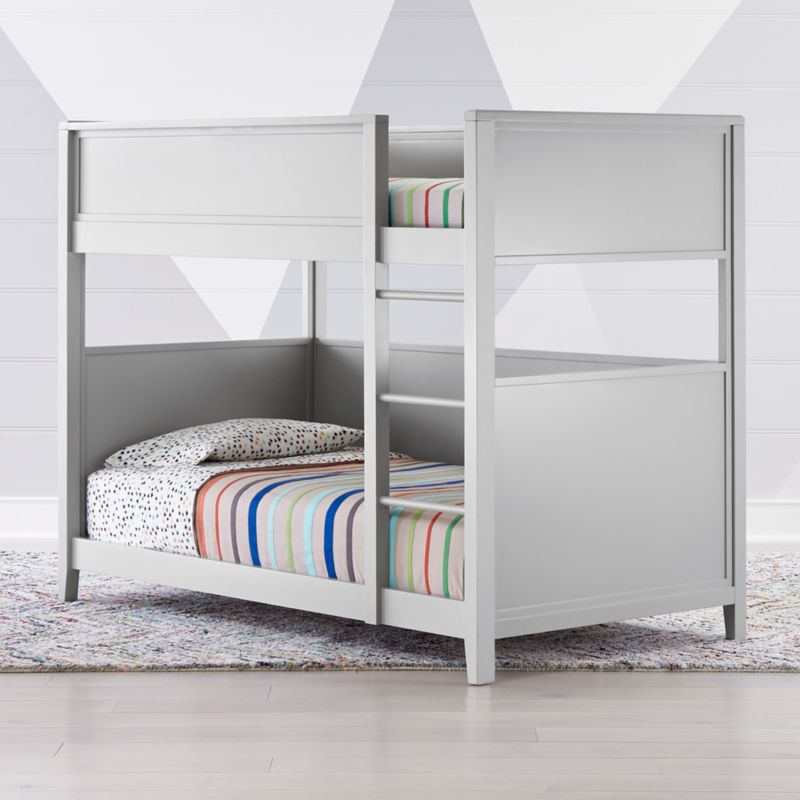 Small Space Twin Bunk Bed Crate And Barrel
