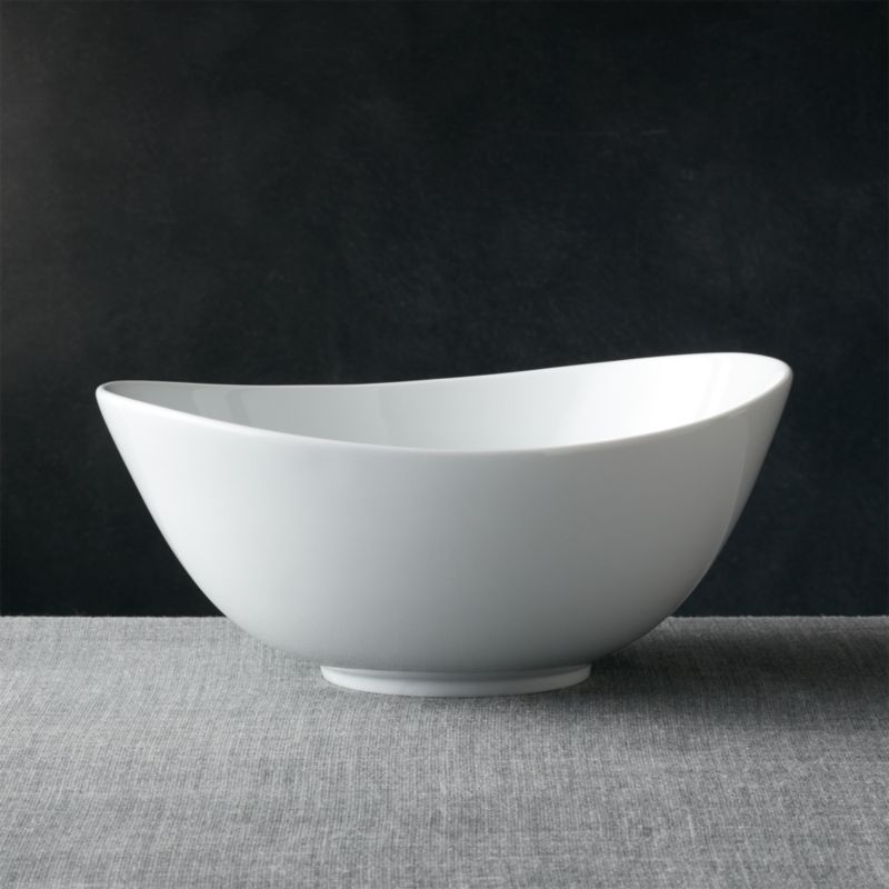 Swoop Large Bowl Reviews Crate And Barrel