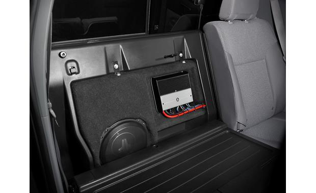 Jl Audio Stealthbox 174 Black Custom Fit Fiberglass Enclosure With 10 Quot 10tw3 D4 Subwoofer Fits