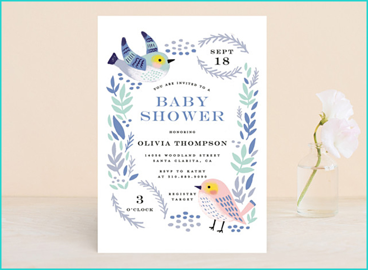 Unusual Baby Shower Invitations