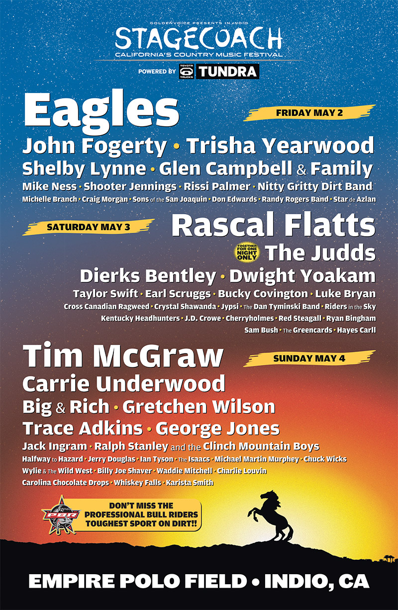 Sponsors Stagecoach 2019