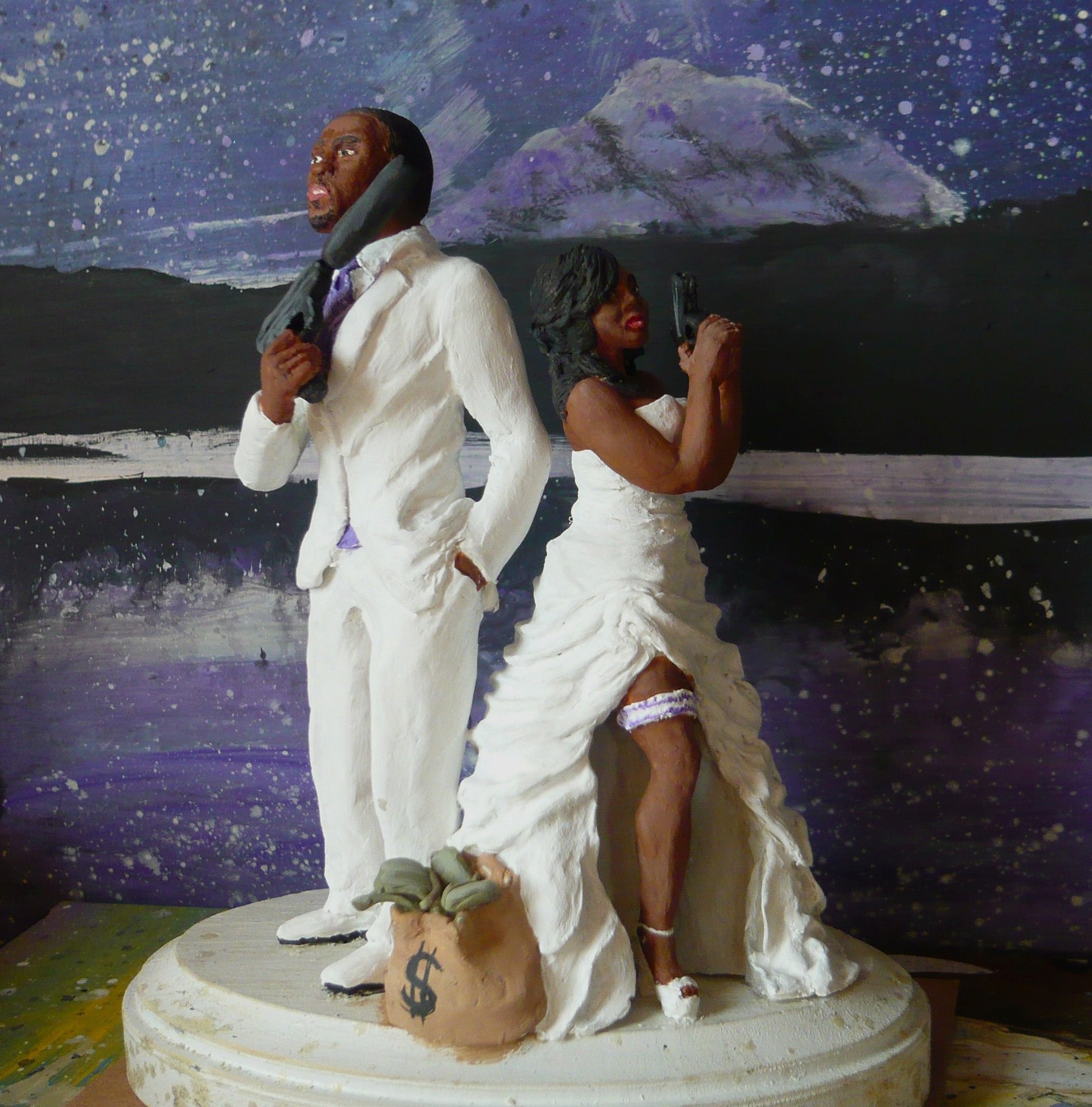 Buy a Hand Made Custom Wedding Cake Topper, made to order ...