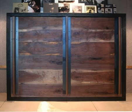 Custom Made Reclaimed Wood Murphy Bed By Puddle Town