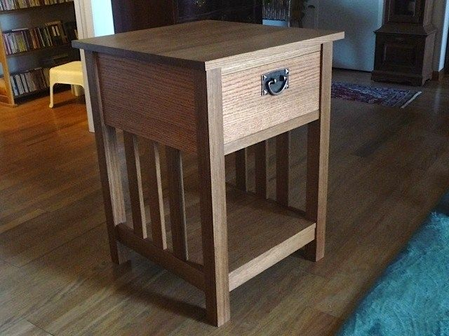 Hand Made Mission Style End Table By Rob Clark Furniture