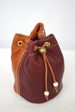 Custom Leather Golf Valuables Pouch By Sergeant Minor