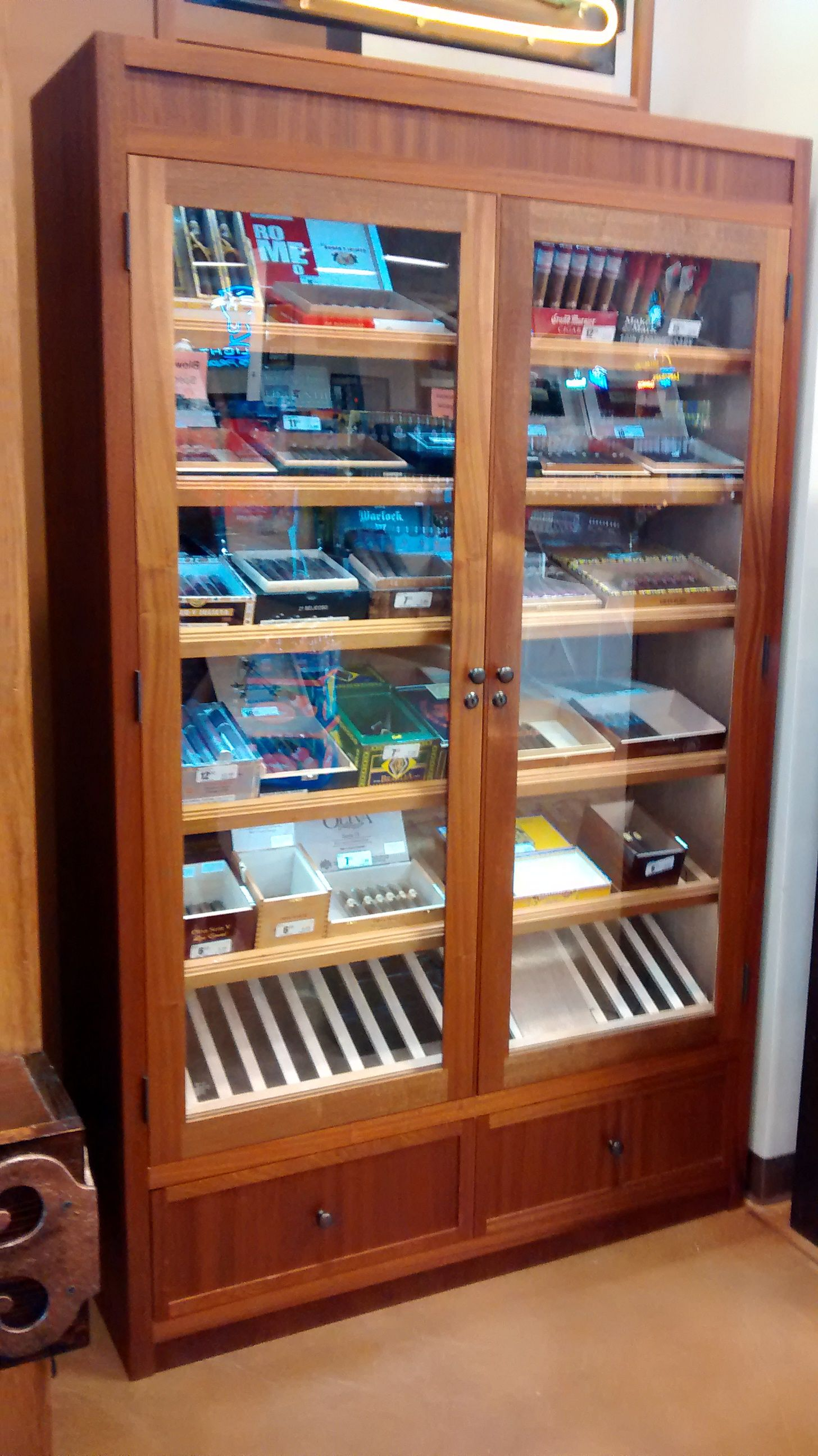 Knife Display Case Cabinet Storage
