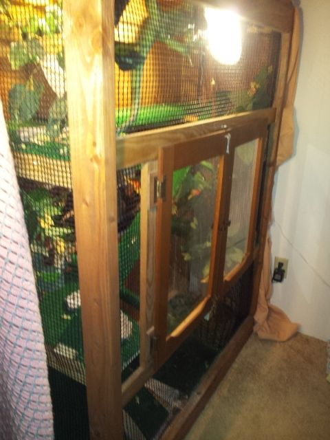 Custom Multi Story Reptile Cage By Your Design Wood