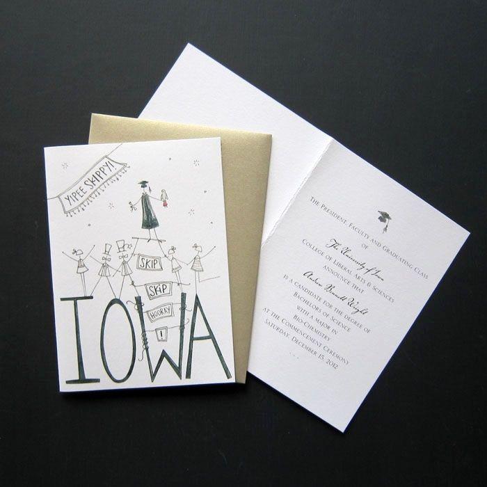 Custom Grad Invitations