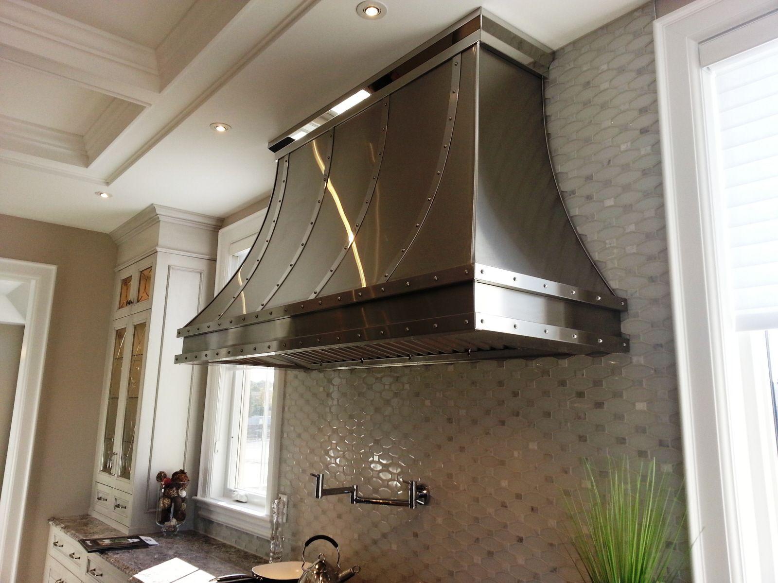 Best Kitchen Gallery: Hand Crafted Stainless Steel Range Hood S1 By Ck Metalcraft Llc of Metal Kitchen Hoods on rachelxblog.com