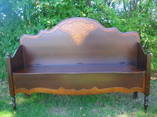 Handmade Hand Crafted Deacon S Bench By Neil Erickson Fine